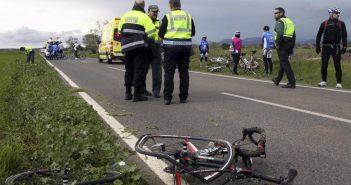 Tres ciclistas mueren atropellados en un fin de semana trágico