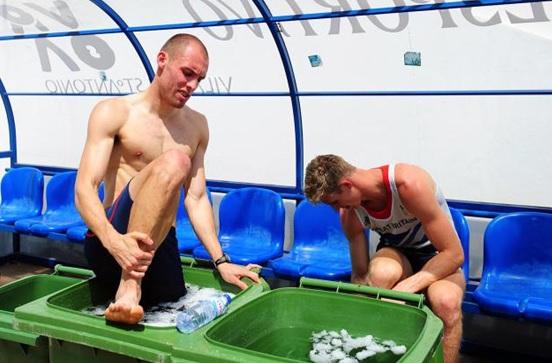 Baño en hielos