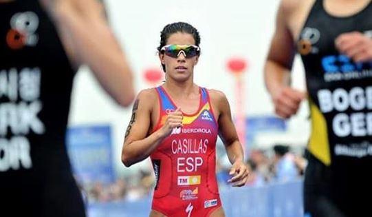 Una enorme Miriam Casillas consigue la plata en Weihai ITU Triathlon World Cup