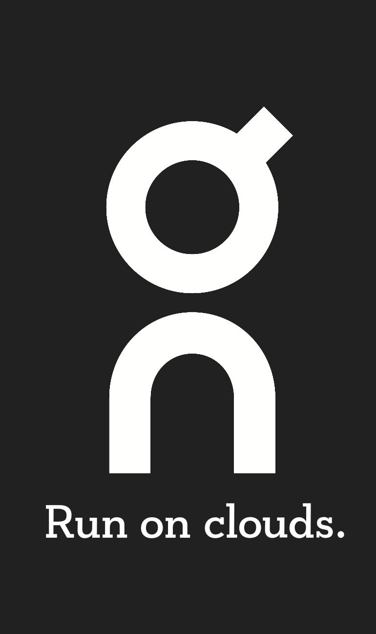 On Logo negro