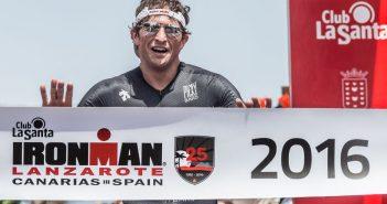 Jesse Thomas Ironman de Lanzarote