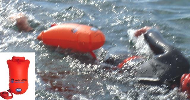 384c464e2112 A prueba la boya de natación Ishof de Neda el Món por Ultraquim