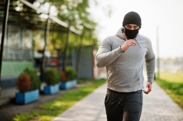 correr con mascarilla