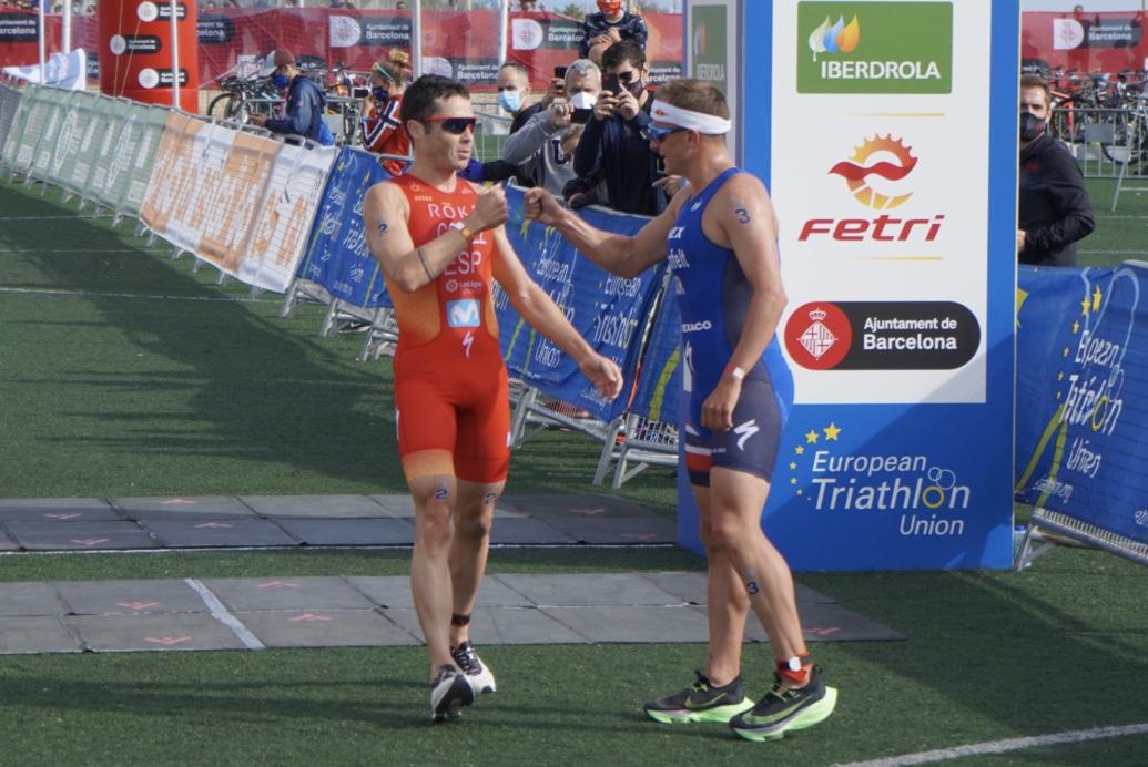 Kristian Blummenfelt wint sterk bezette European Cup triatlon in Barcelona, Peter Denteneer 16de