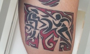 tatuaje triatlon