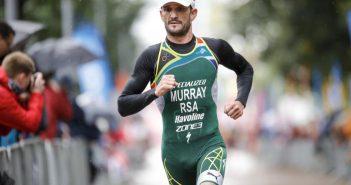 Murray quema la pista con unos 300m a ritmo de velocista